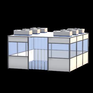 Reinraumkabinen: flexible, modular und individuell auf den Kunden zugeschnitten.