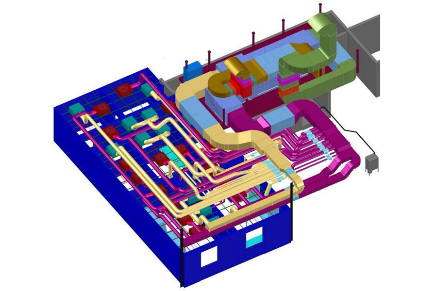 Planung und Ausführung reinraumtechnischer Anlagen auf höchstem Niveau.